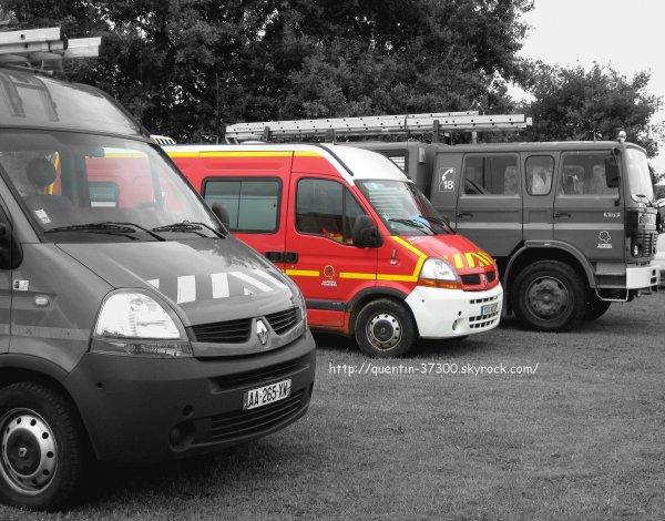2012 - SDIS 37 : Concours de Man½uvre des Jeunes Sapeurs Pompiers à Val du Lys ( Monts )