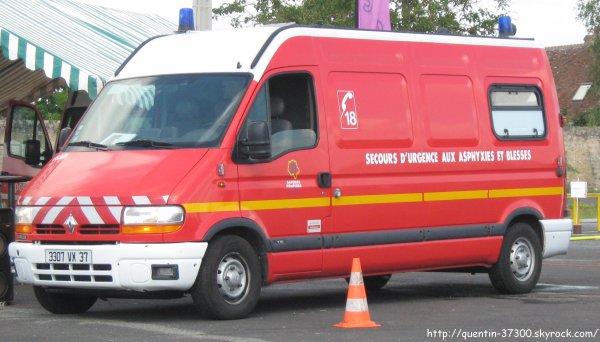 2012 - SDIS 37 : Journée Portes Ouvertes au Centre de Secours de Ouest Agglo