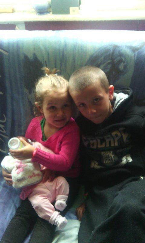 Mon neveu et mes nieces