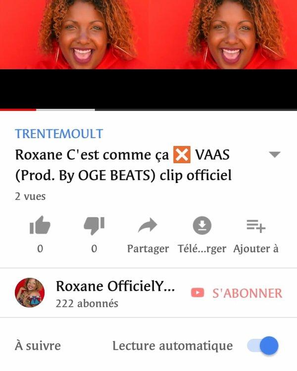 Roxane c'est comme ça ✖️ VAAS (prod. By OGE BEATS)