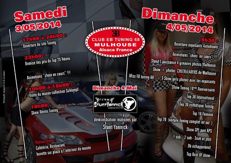 10 ème Anniversaire du Club EB Tuning 68  . 6 ème Alsace Tuning Show International