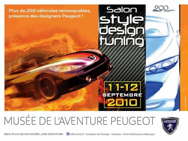 Meeting international 11 et 12 Septembre 2010 Musée de l'Aventure Peugeot 25600 Sochaux