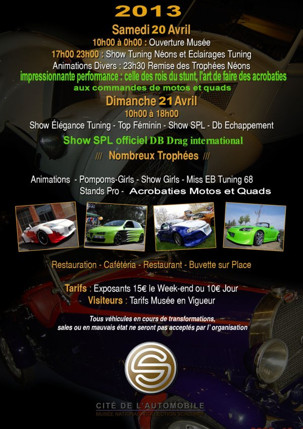 5ème ALSACE TUNING SHOW International   20 et 21 Avril 2013
