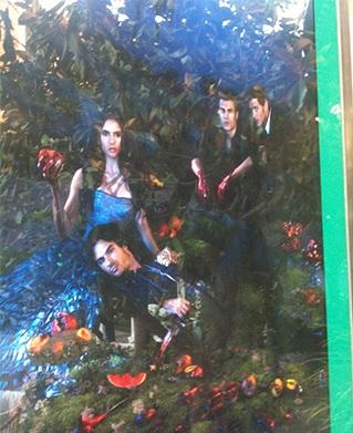 photos de vampire diaries sur le tapis rouge ( et une image pas comme les autre a était poster )