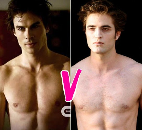 Damon salvatore ou Edward cullen ?