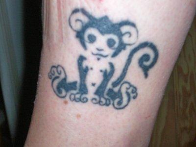 Un petit singe blog de tattoo039 - Petit singe rigolo ...