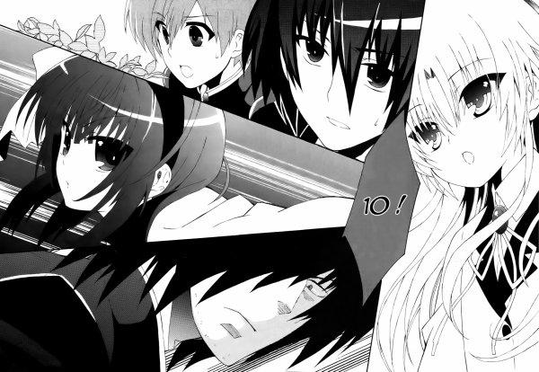 Liste des chapitres du manga Angel Beats