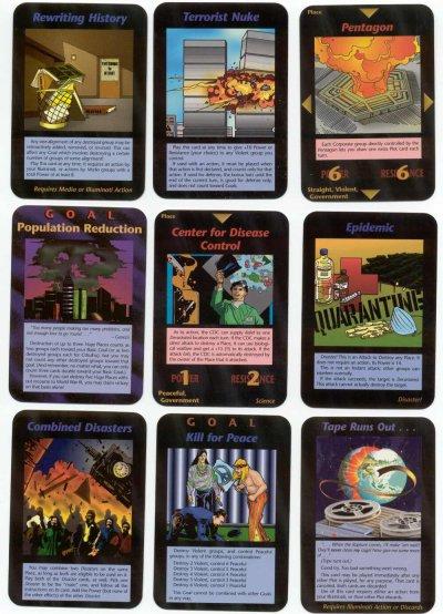 Jeux de carte illuminati