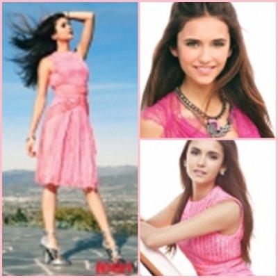 """TVD-S-B. passe en """"mode printemps""""!;D Pour feter ça, un nouveau shoot de la belle Nina (désolée pour la qualité)"""