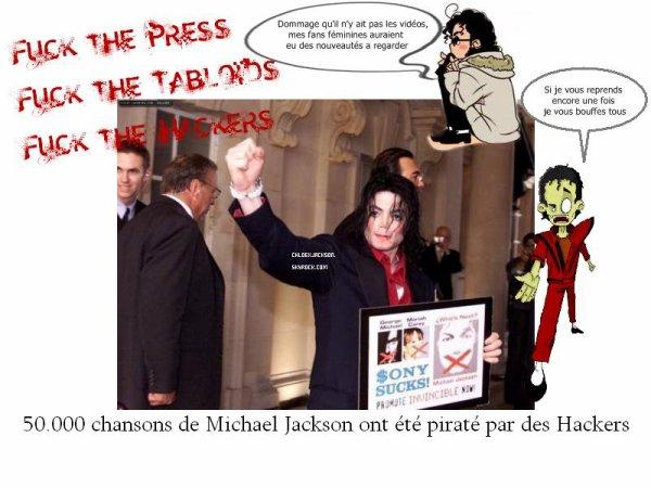 Des hackers ont subtilisé le catalogue de Michael Jackson