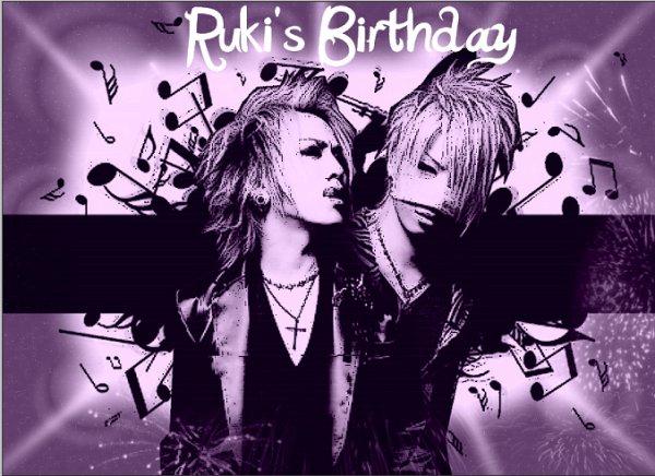 Ruki's birthday
