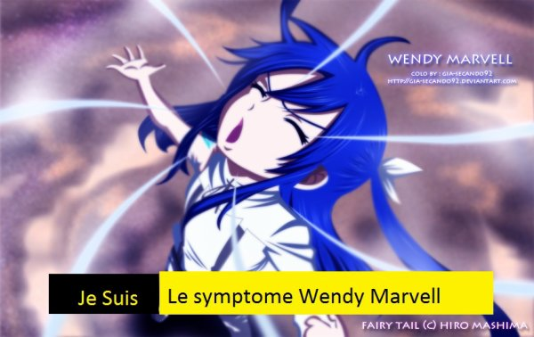 Je suis le symptome Wendy Marvell