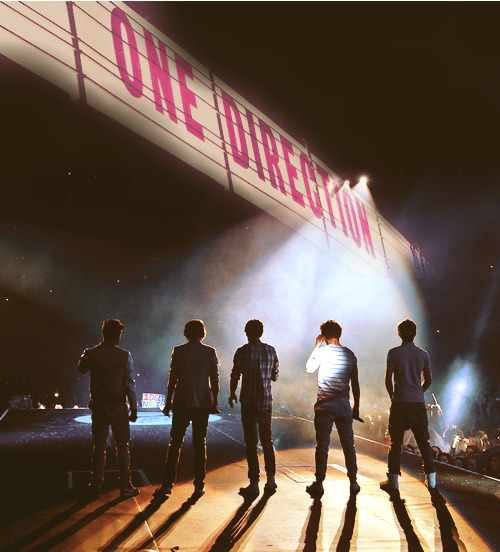 Hi, we're One direction.