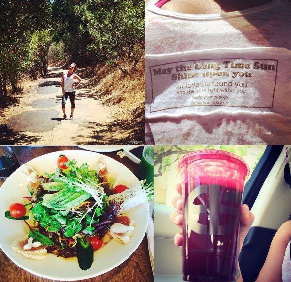 Le 05 août Lea et Matthew ont été aperçu en randonnée