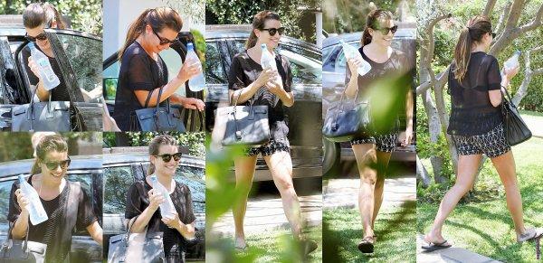 Le  06 août Lea a rendu visite à une amie.
