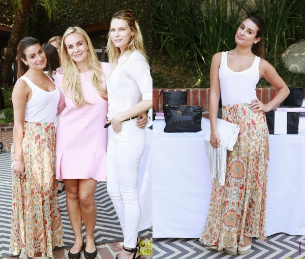 "Le 07 août Lea prèsente au ""Donatienne Fall Collection Brunch"" à Beverly Hills"
