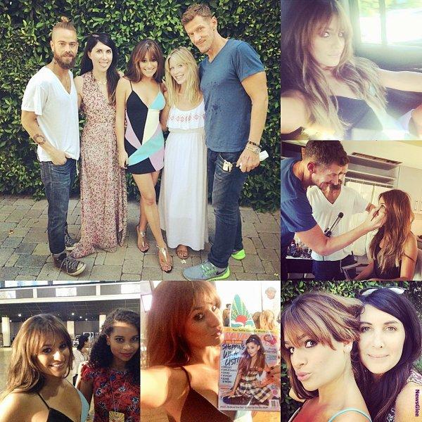 Le 10 août Lea été présente aux Teen Choice Awards