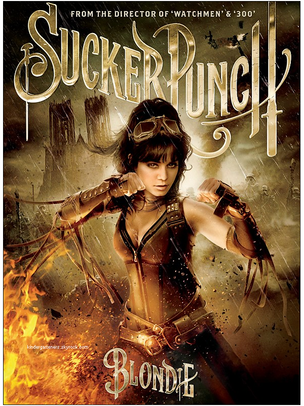 NOUVEAU POSTER PROMOTIONNEL DE SUCKER PUNCH