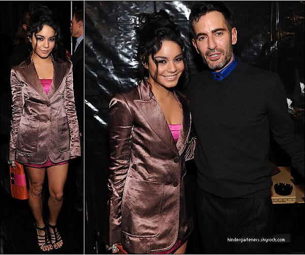 Vanessa au défilé Marc Jacobs Fall 2011 Collection à New York =)=)=) le 14 février