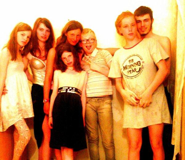 Ma famille et ma belle soeur