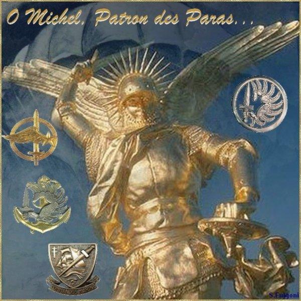 +++++ Une bonne Saint Michel Patron des Parachutistes à toutes & tous recevez toute mon amitiés sincère votre grand ami p@trick +++++