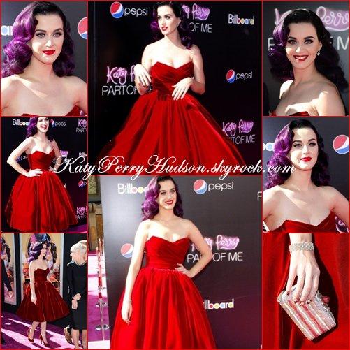 Katy à la première de son film à L.A