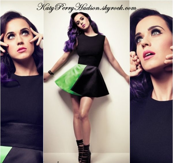 "Katy pour le magazine ""Hollywood Reporter """