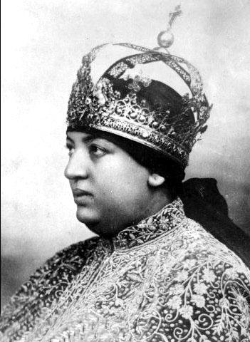 L'impératrice Menen I (Impératrice d'Ethiopie et épouse d'Hailé Sélassié)
