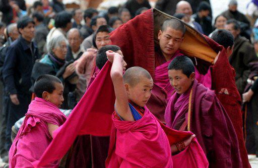 Soutien pour les tibétains
