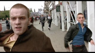 Texte de l'introduction du film : Trainspotting