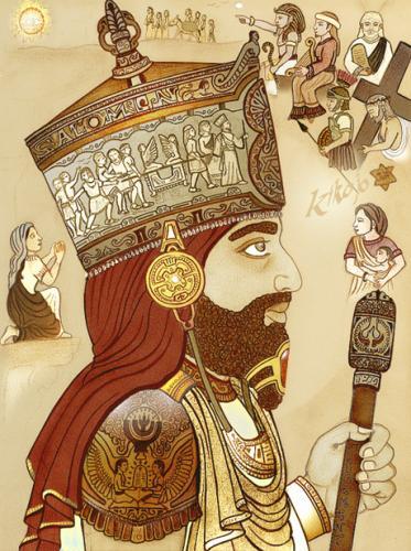 Résumé de l'histoire d'amour entre le Roi Salomon et la Reine de Saba