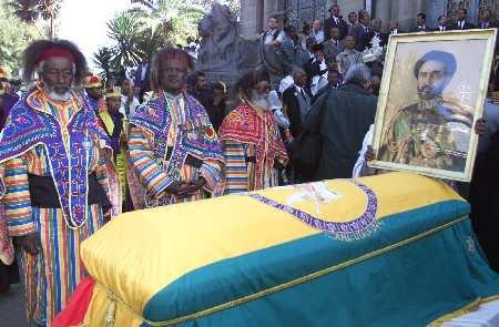 La déposition et la mort d'Hailé Sélassié