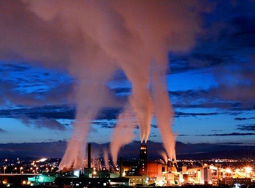 Le réchauffement et la pollution climatique