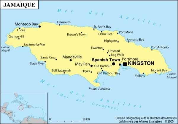 Histoire de la Jamaïque : résumé