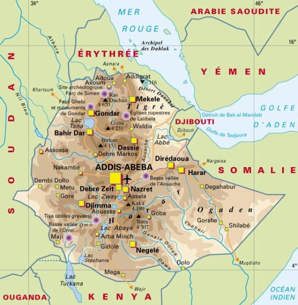 L'histoire de l'Ethiopie