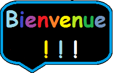 Bienvenue sur mon blog! Welcome to my blog!