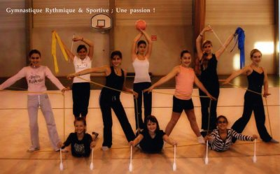 ● Gymnastique Rythmique et Sportive.[/align=center]