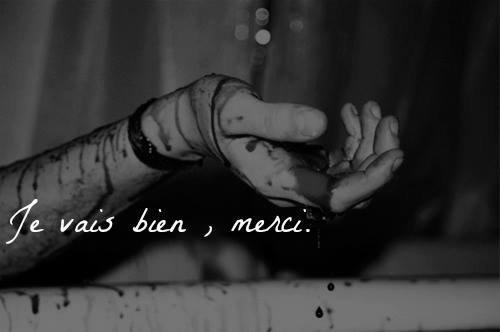 Je vais bien, merci.
