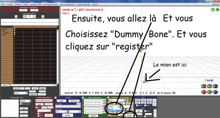 "(MMD) Tuto n°2: A quoi sert le ""Dammy Bone"" ?"