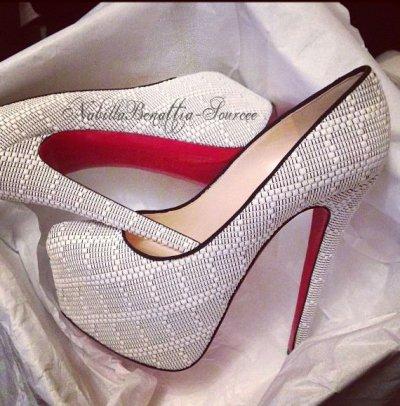 Nouvelle chaussure de Nabilla