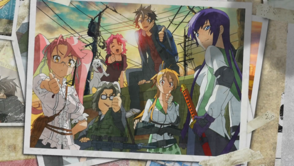 "Pause Photo ""High school OF The Dead (H.O.T.D)"""