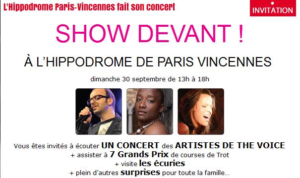 New concert a PARIS !!