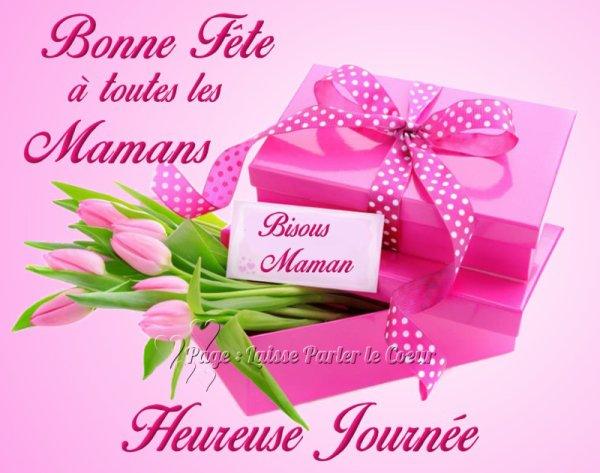 Une très bonne fête à toutes les mamans du monde entier