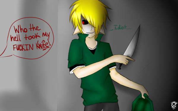 Vol de couteau..