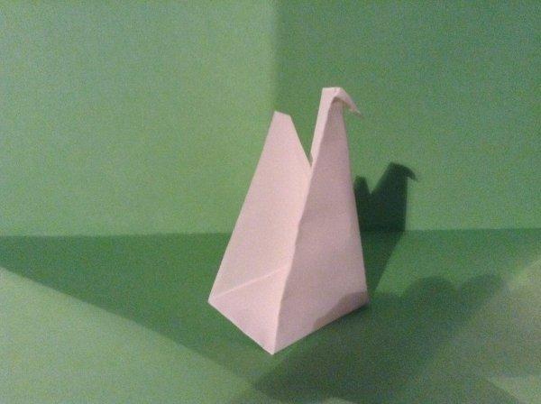 Origami cygne