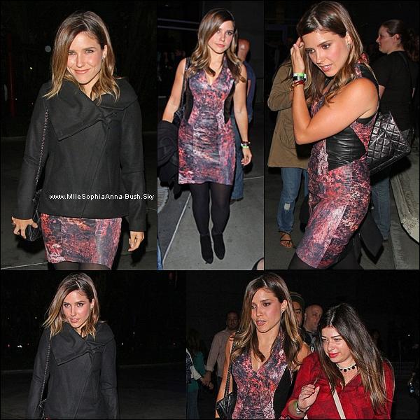-10/10 : Sophia était au concert de Madonna. -