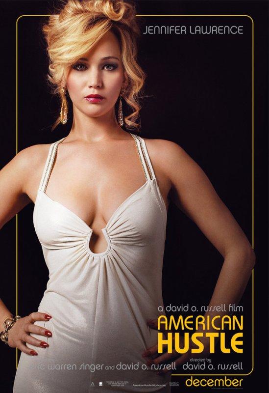 Jennifer Lawrence, névrosée géniale dans ''American Bluff''