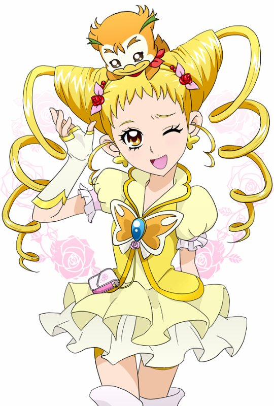 Yes !  Précure 5 ( GoGo) ♥ Cure Lemonade Biographie ♥