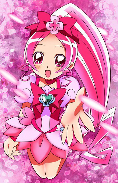 HeartCatch Pretty Cure ♥ Cure Blossom Biographie ♥