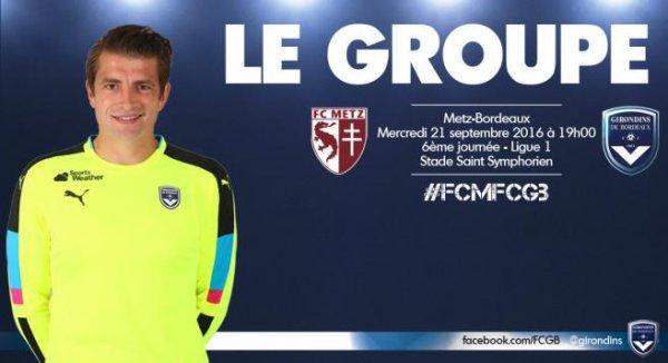 Groupe - Le groupe pour Metz